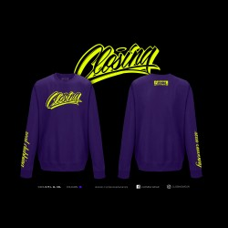 Closing Purple Hoddie